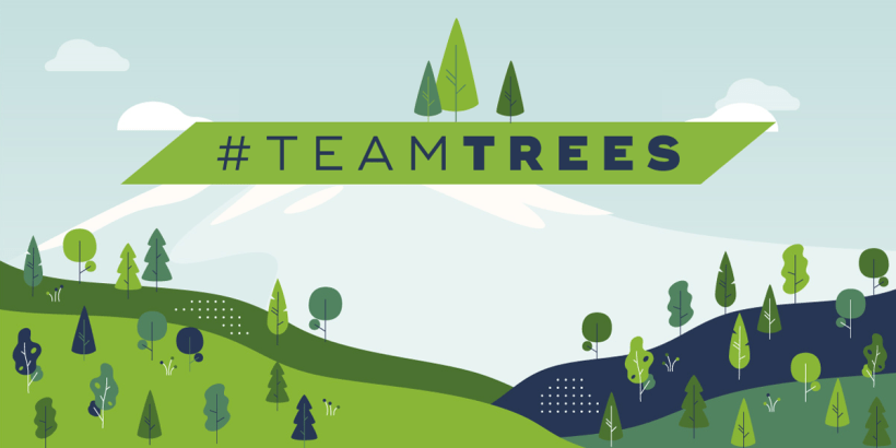 Companion supports #TeamTrees